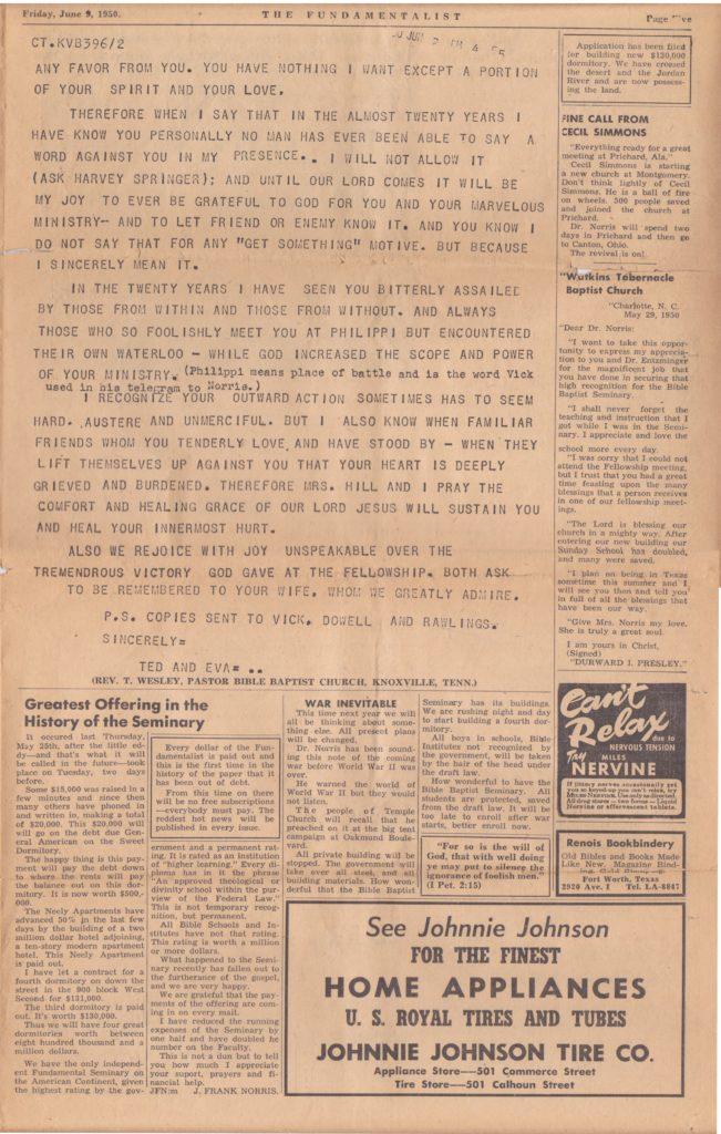 1950 Fundamentalist - Page 5