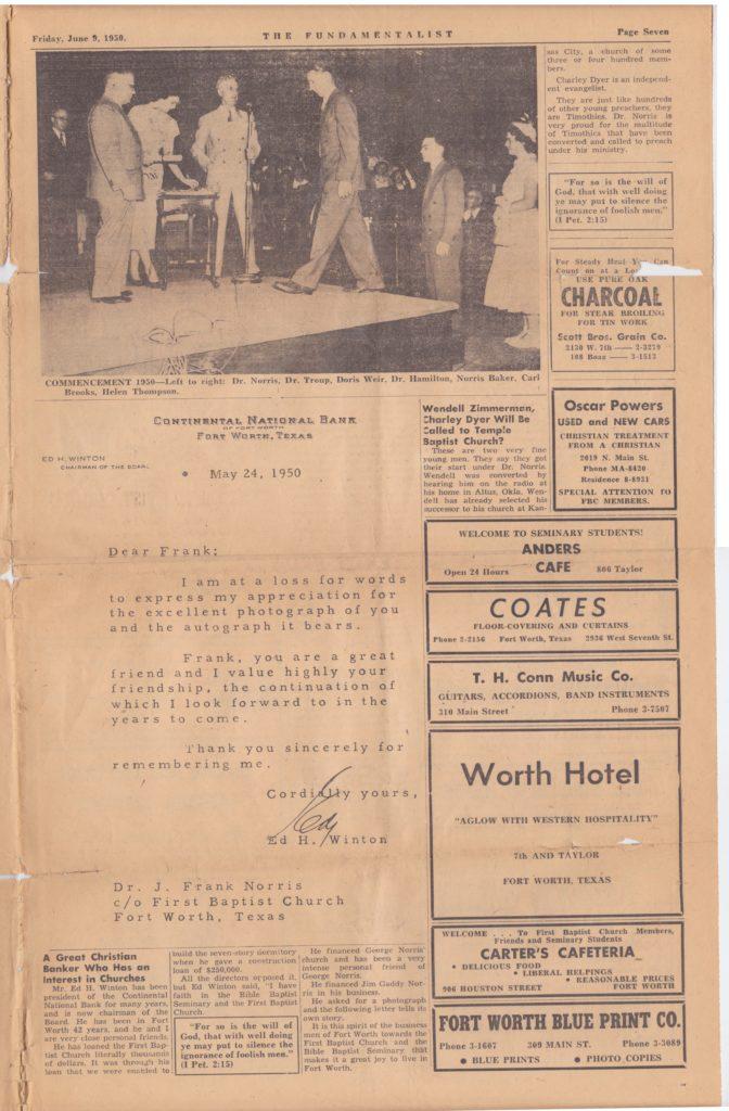 1950 Fundamentalist - Page 7
